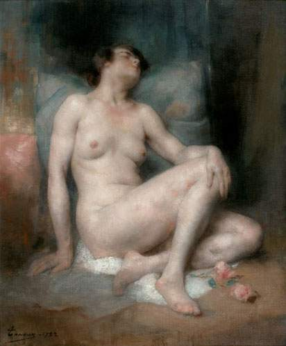 Nu. Henri Adriene Tanoux