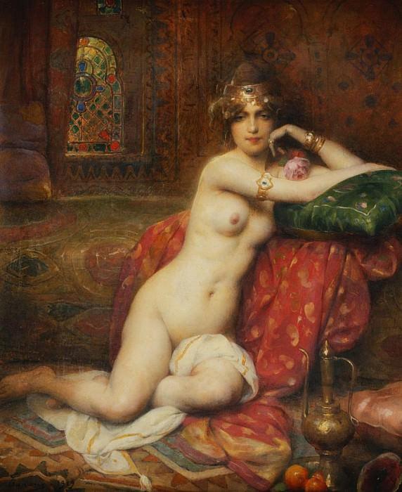 Hors Concours Femme d'Orient. Henri Adriene Tanoux