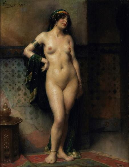 Esclave. Henri Adriene Tanoux