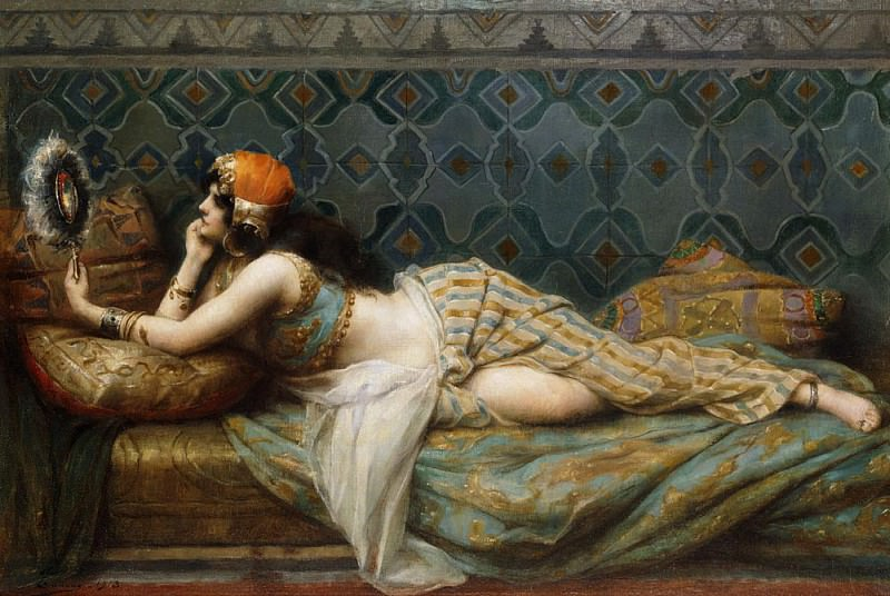 The Odalisque. Henri Adriene Tanoux