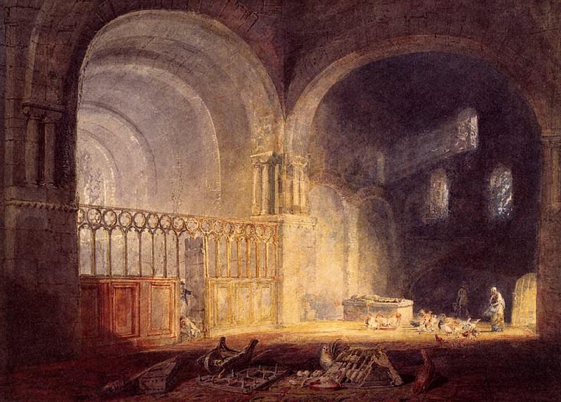 Turner Joseph Mallord William Transept of Ewenny Prijory Glamorganshire. Joseph Mallord William Turner