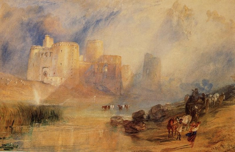 Turner Joseph Mallord William Kidwelly Castle. Joseph Mallord William Turner