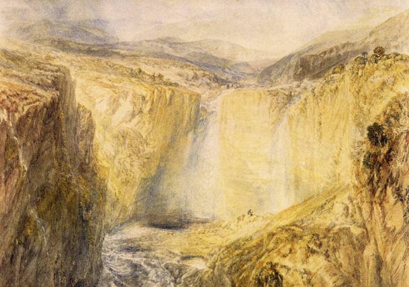Turner Joseph Mallord William Fall of the Tees Yorkshire. Joseph Mallord William Turner