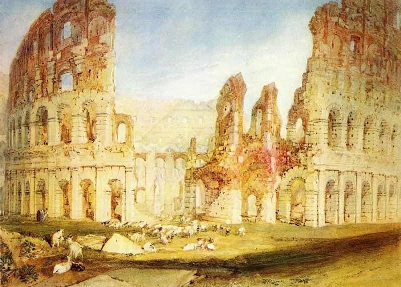 Turner Joseph Mallord William Rome The Colosseum. Joseph Mallord William Turner
