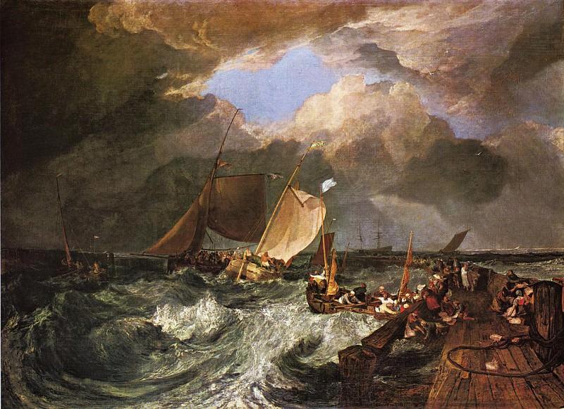 Turner Joseph Mallord William Calais Pier with French Poissards. Joseph Mallord William Turner