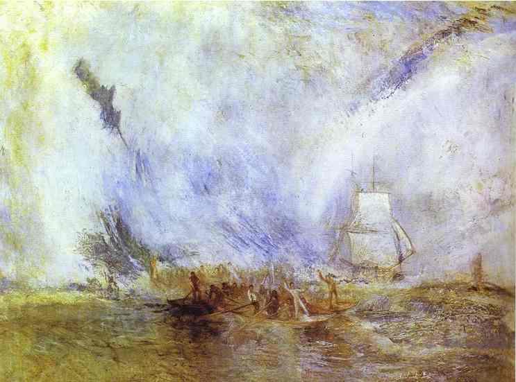 William Turner - Whalers. Joseph Mallord William Turner