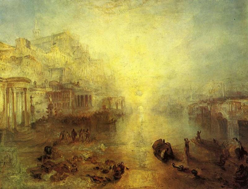 Turner Joseph Mallord William Ancient Italy Ovid Banished from Rome. Joseph Mallord William Turner