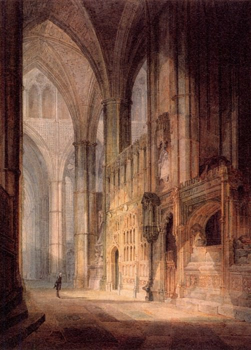 Turner Joseph Mallord William St. Erasmus in Bishop Islips Chapel Westminster Abbey. Joseph Mallord William Turner