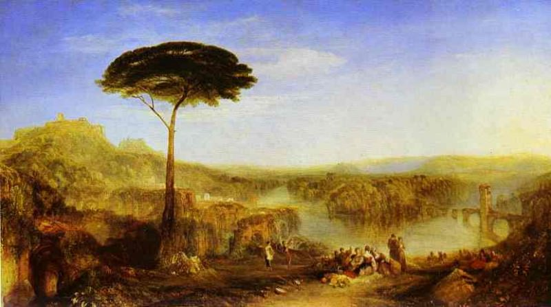 William Turner - Childe Harolds Pilgrimage. Joseph Mallord William Turner