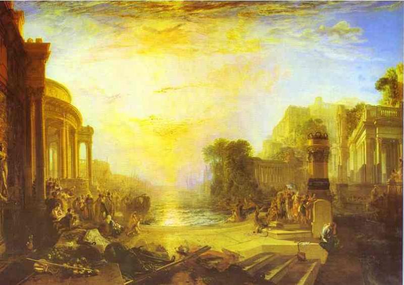William Turner - The Decline of the Carthaginian Empire. Joseph Mallord William Turner