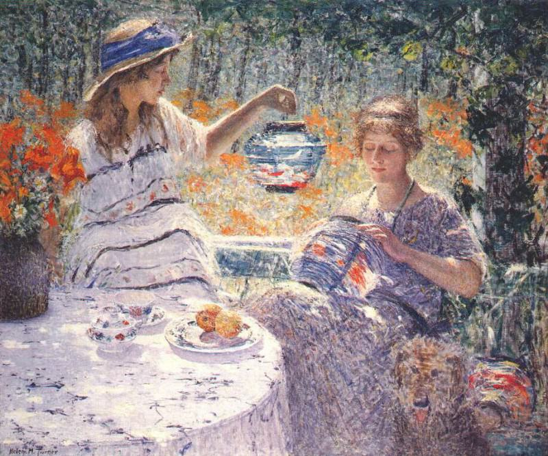 turner lillies lanterns and sunshine 1923. Joseph Mallord William Turner