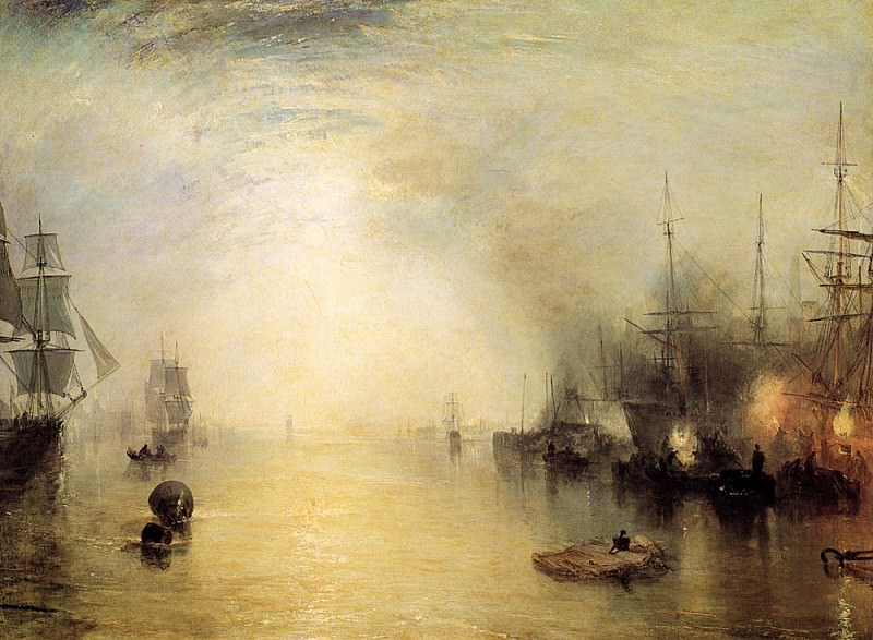 Turner Joseph Mallord William Keelmen heaving in coals by night. Joseph Mallord William Turner