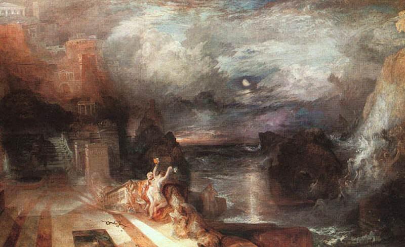 Turner Joseph Hero and Leander. Joseph Mallord William Turner