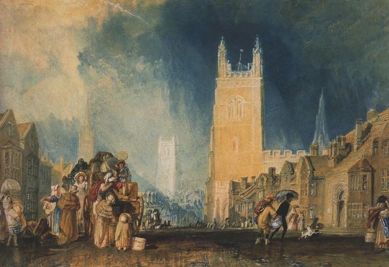 Turner Joseph Mallord William Stamford Lincolnshire. Joseph Mallord William Turner