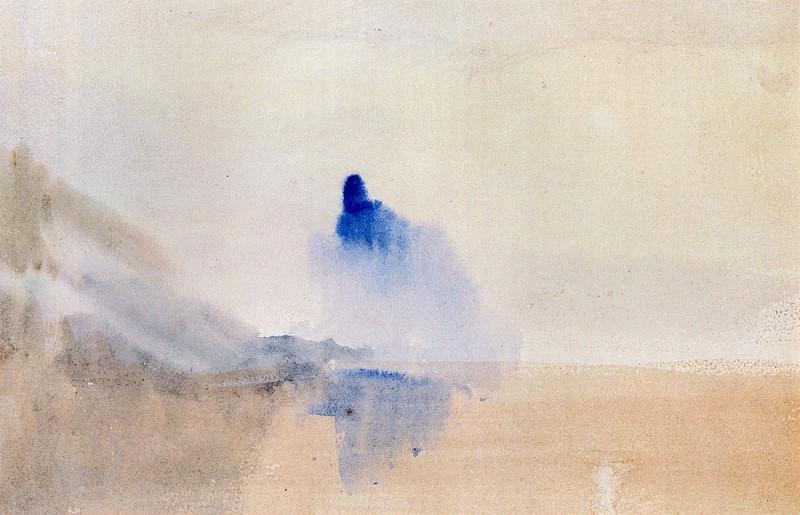 Turner Joseph Mallord William Study Of A Castle By A Lake. Joseph Mallord William Turner