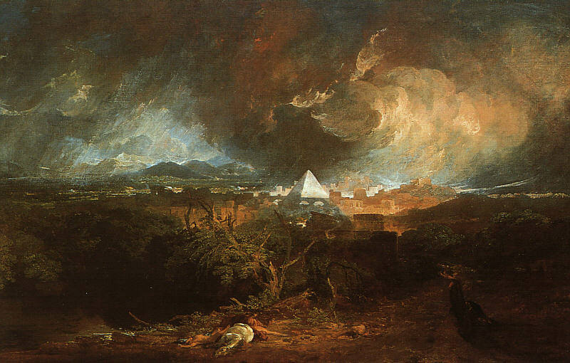 Turner Joseph The Fifth Plague of Egypt 1800. Joseph Mallord William Turner