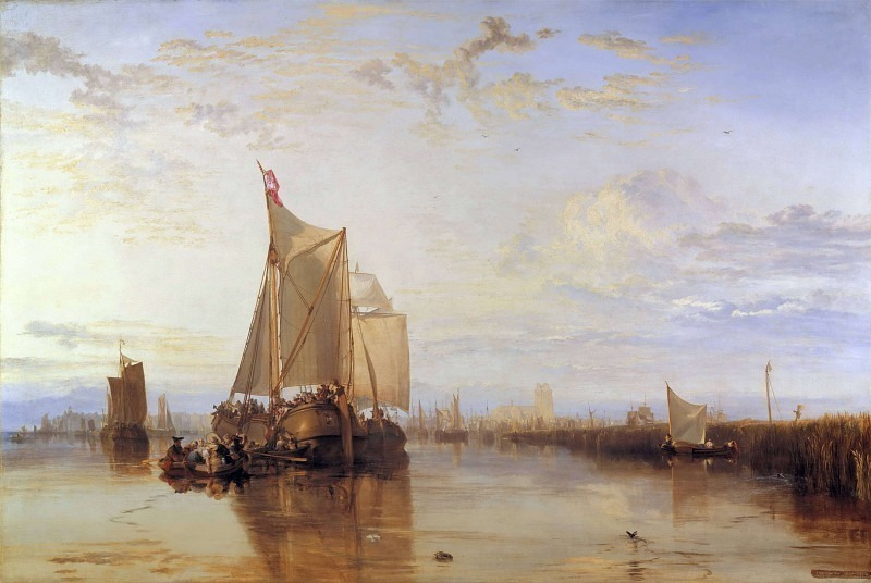 Turner Joseph Mallord William Dort the Dort Packet Boat from Rotterdam Bacalmed. Joseph Mallord William Turner