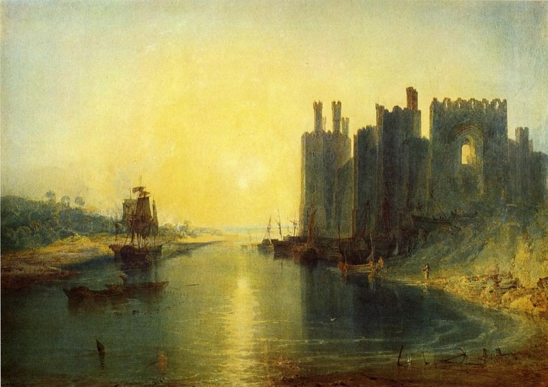 Turner Joseph Mallord William Caernarvon Castle. Joseph Mallord William Turner