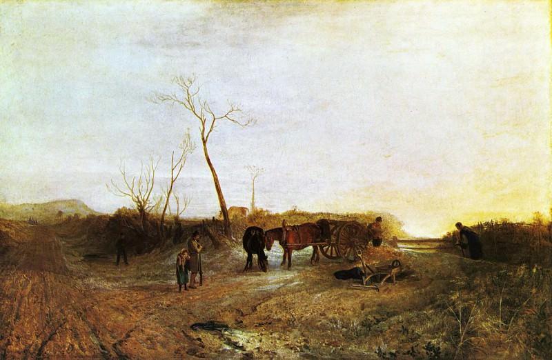 Turner Joseph Mallord William Frosty Morning. Joseph Mallord William Turner