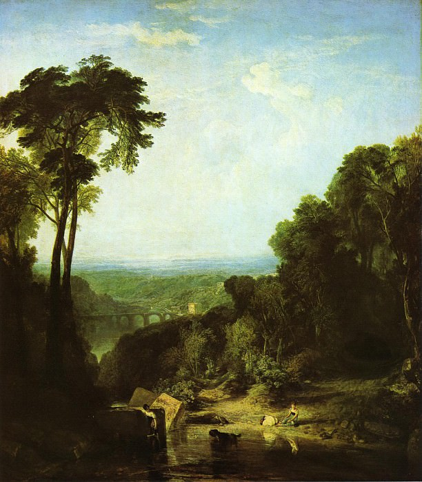 Turner Joseph Mallord William Crossing the Brook. Joseph Mallord William Turner