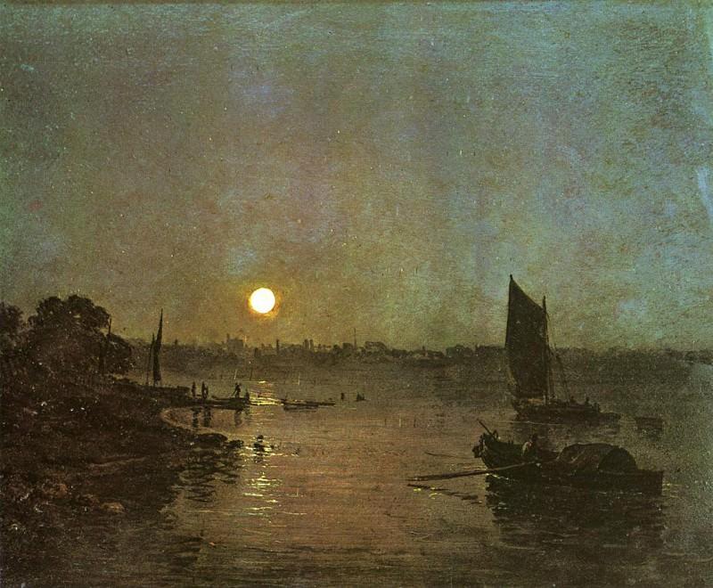Turner Joseph Mallord William Moonlight A Stody at Millbank. Joseph Mallord William Turner