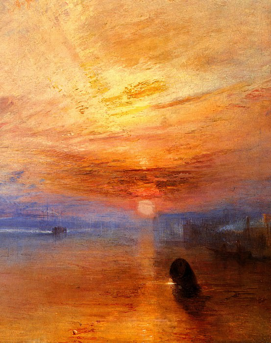 Turner Joseph Mallord William The fighting -Temeraire- tugged to her last Berth to be broken up d. Joseph Mallord William Turner