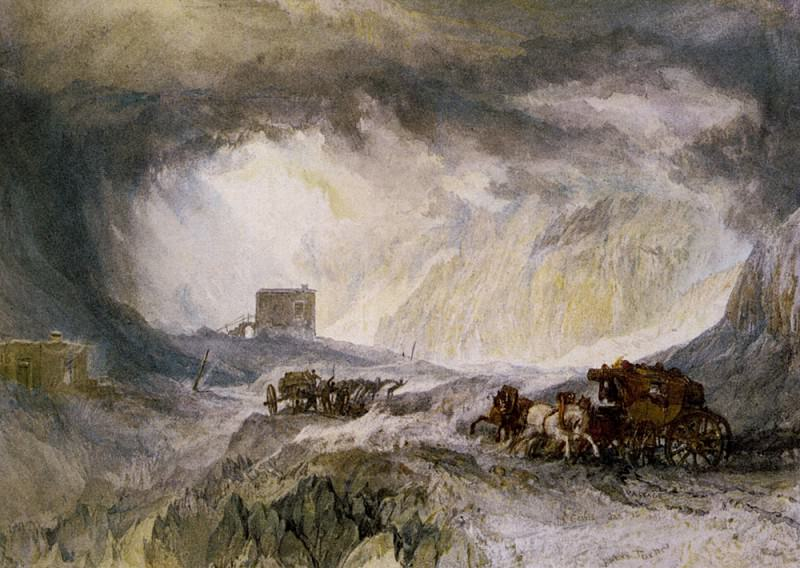 Turner Joseph Mallord William Passage of Mount Cenis. Joseph Mallord William Turner