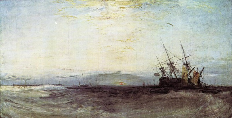 Turner Joseph Mallord William A Ship Aground. Joseph Mallord William Turner