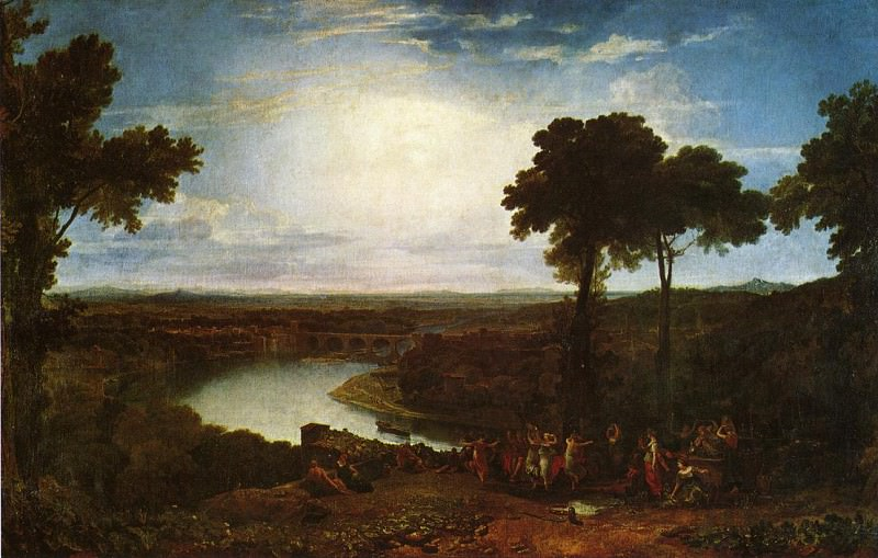 Turner Joseph Mallord William The Festival Upon the Opening of the Vintage at Macon. Joseph Mallord William Turner
