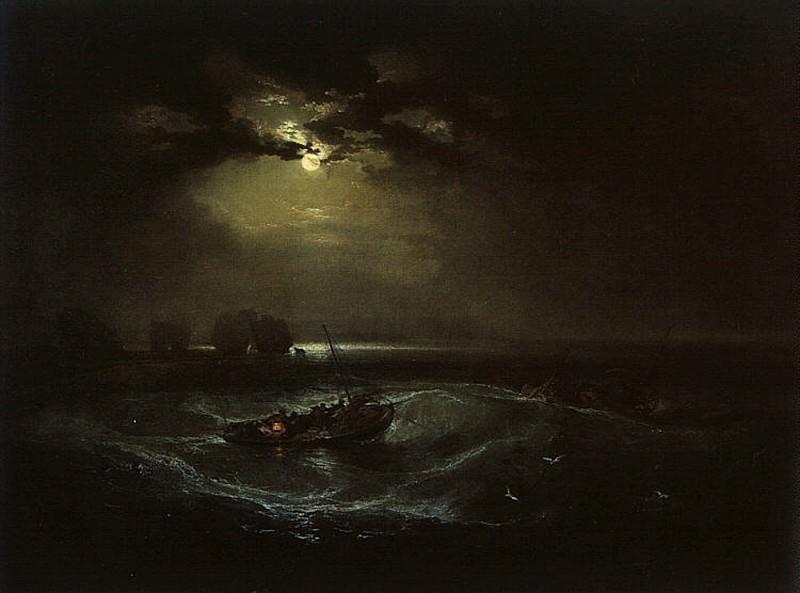 Turner Joseph Fishermen at Sea (The Cholmeley Sea Piece). Joseph Mallord William Turner