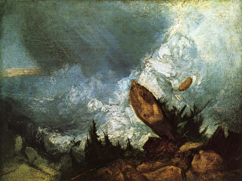 Turner Joseph Mallord William The Fall of an Avalanche in the Grisons. Joseph Mallord William Turner