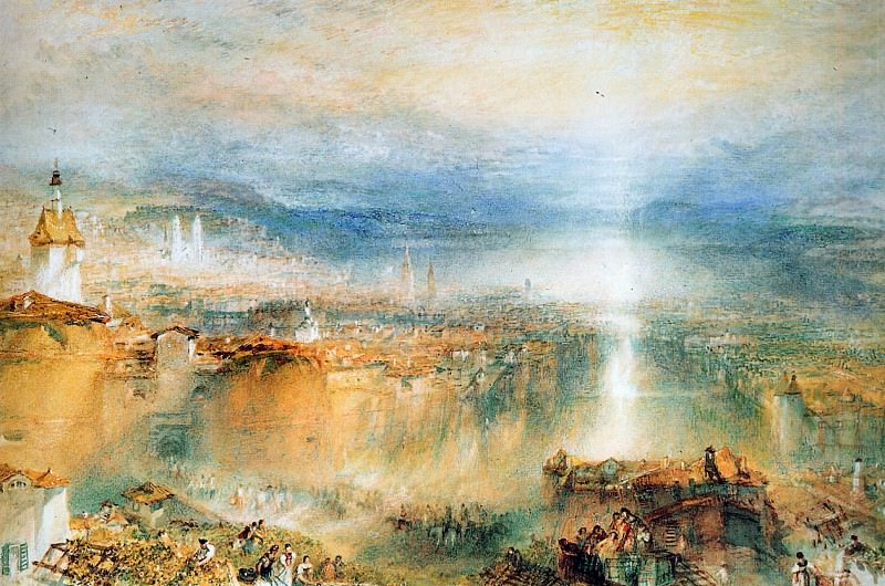 Turner Joseph Zurich Sun. Joseph Mallord William Turner