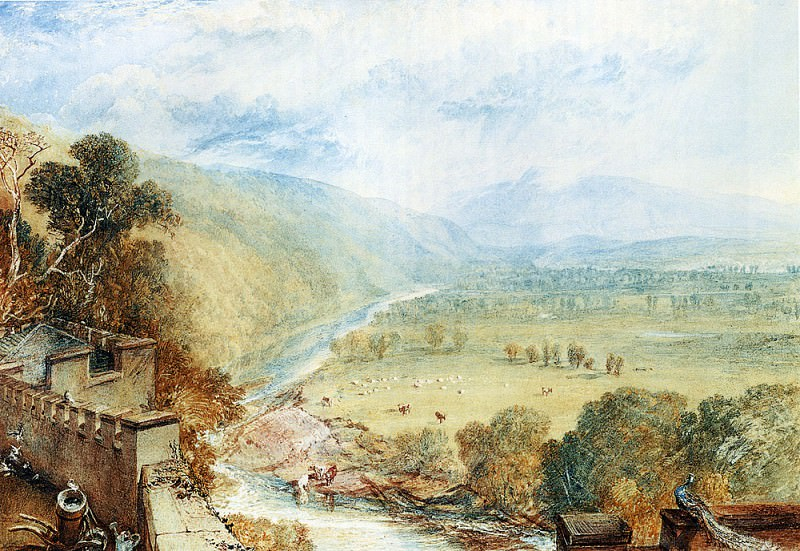 Turner Joseph Mallord William Ingleborough From The Terrace Of Hornby Castle. Joseph Mallord William Turner