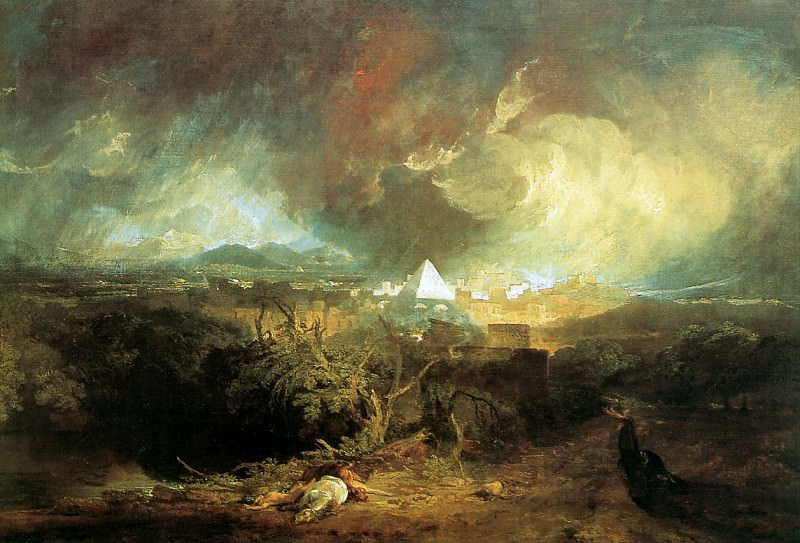 Turner Joseph The fifth plague of Egypt Sun. Joseph Mallord William Turner