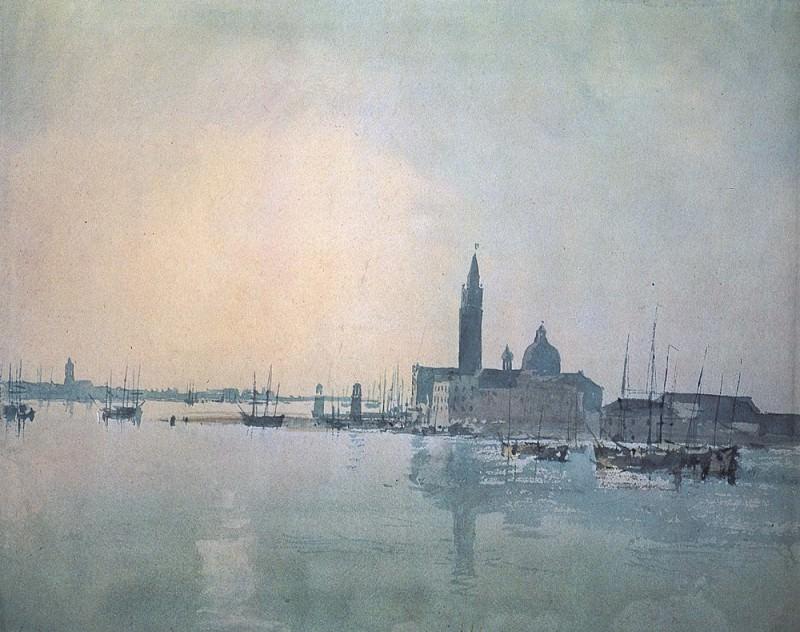 Turner Joseph Mallord William San Giorgio Maggiore in the morning. Joseph Mallord William Turner