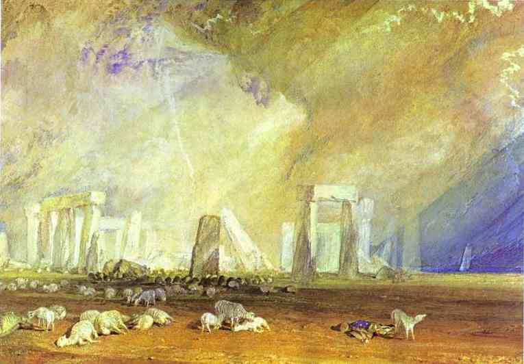 William Turner - Stonehenge. Joseph Mallord William Turner