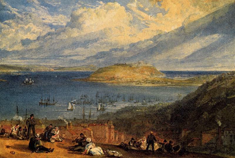 Turner Joseph Mallord William Falmouth Harbour Cornwall. Joseph Mallord William Turner