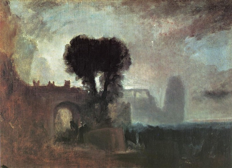 Turner Joseph Mallord William Archway with Trees by the Sea. Joseph Mallord William Turner