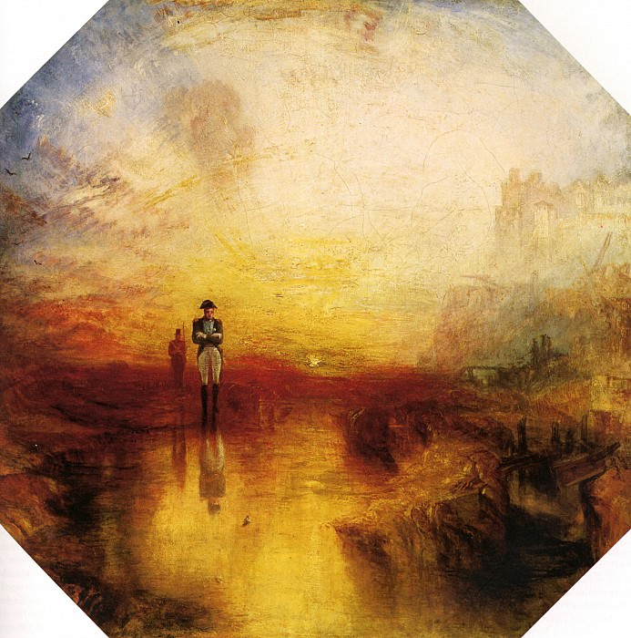Turner Joseph Mallord William The exile and the snail. Joseph Mallord William Turner