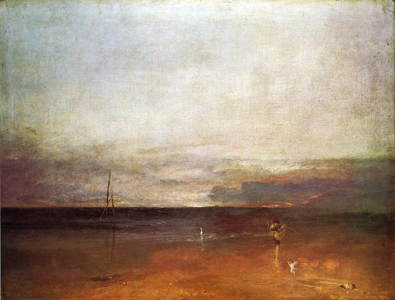 Turner Joseph Mallord William Rocky Bay with Figures2. Джозеф Уильям Мэллорд Тёрнер