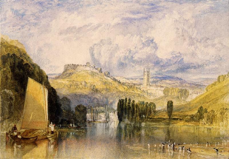 Turner Joseph Mallord William Totnes in the River Dart. Joseph Mallord William Turner