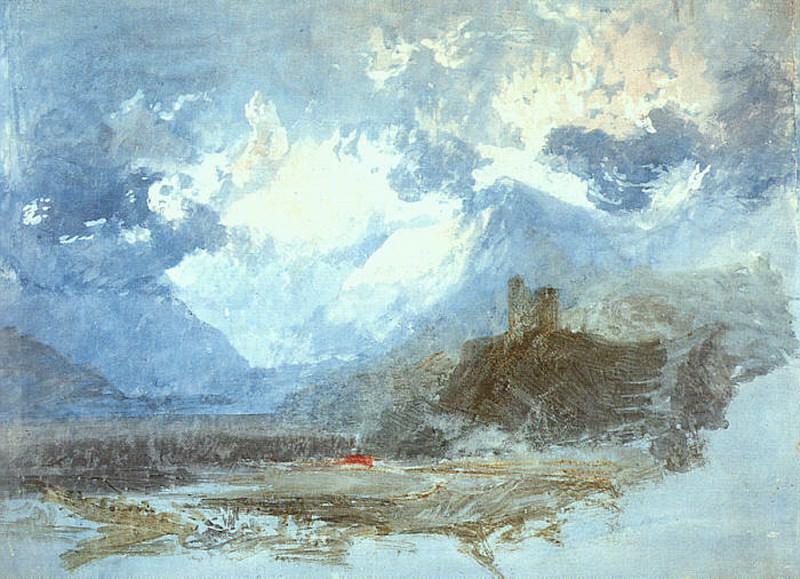 Turner Joseph Dolbadern Castle 1799. Joseph Mallord William Turner