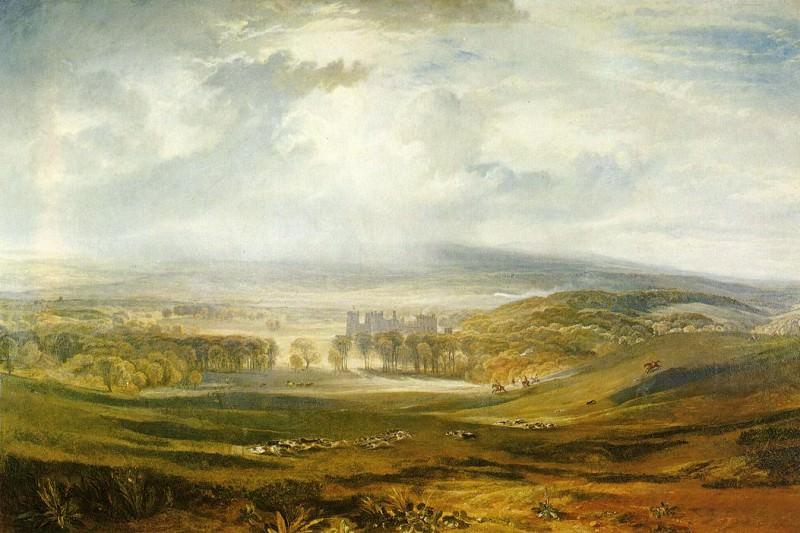 Turner Joseph Mallord William Raby Castle the Seat of the Earl of Darlington. Joseph Mallord William Turner