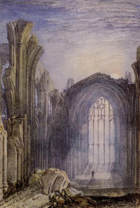 Turner Joseph Mallord William Melrose Abbey. Joseph Mallord William Turner