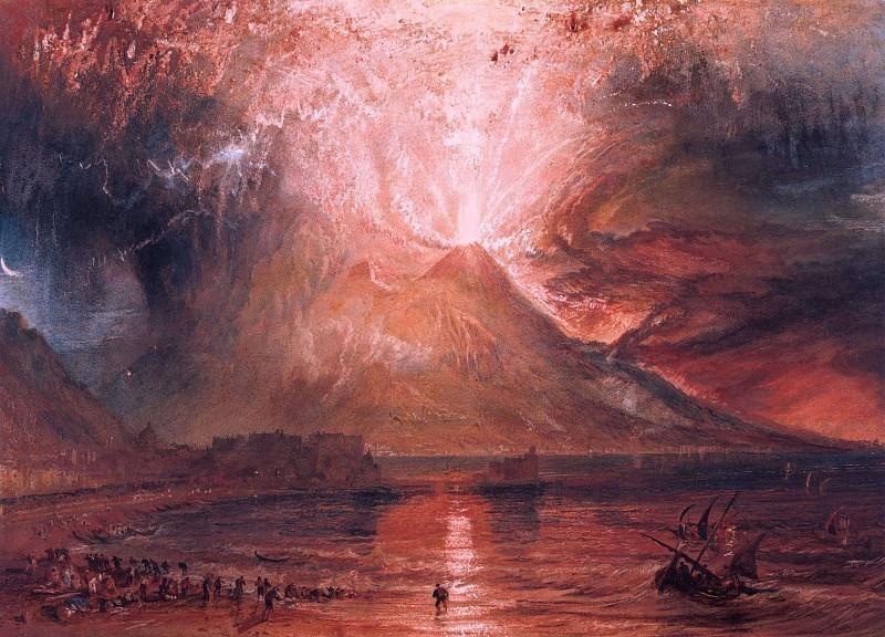 Turner Joseph Mallord William Eruption of Vesuvius. Joseph Mallord William Turner