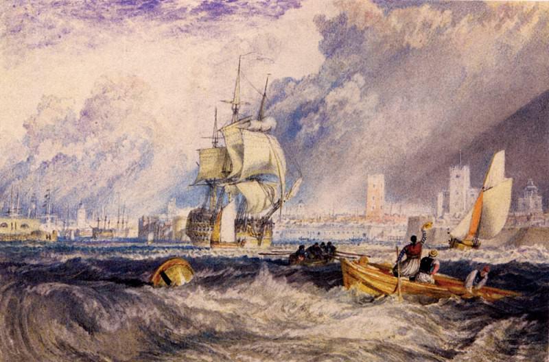 Turner Joseph Mallord William Portsmouth. Joseph Mallord William Turner