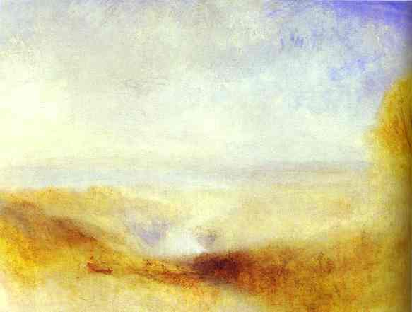 William Turner - Landscape with a River and a Bay in the Background. Joseph Mallord William Turner