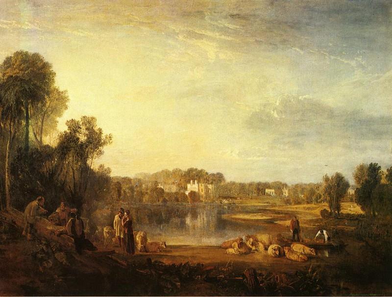 Turner Joseph Mallord William Pope-s Villa at Twickenham. Joseph Mallord William Turner