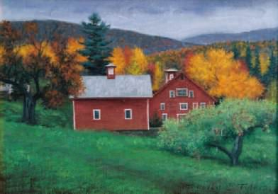 Tyler Red Barn. Timothy C Tyler