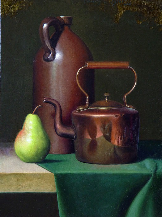 pear and copperAmericanARTJan. Timothy C Tyler